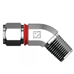 Male Threaded 45° Elbow Connector